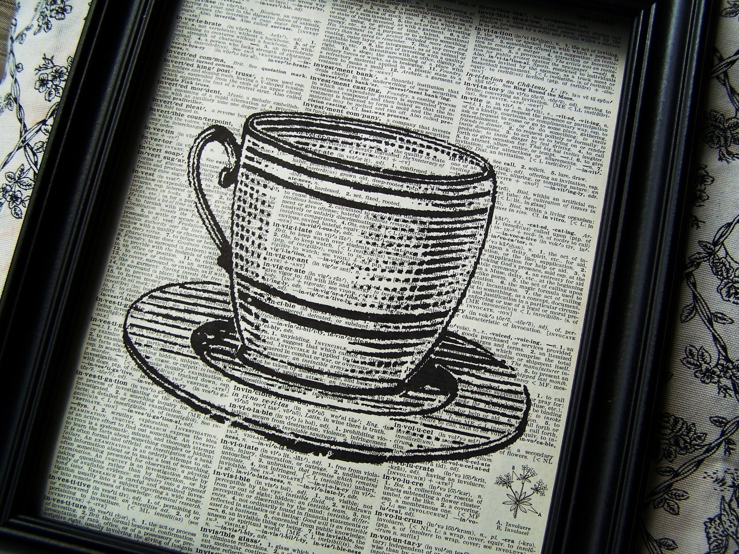 image courtesy of Kitchen Art Vintage Coffee art Coffee Cu