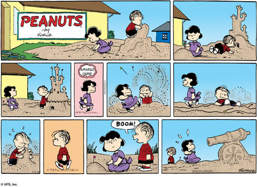 image by Charles M. Schulz